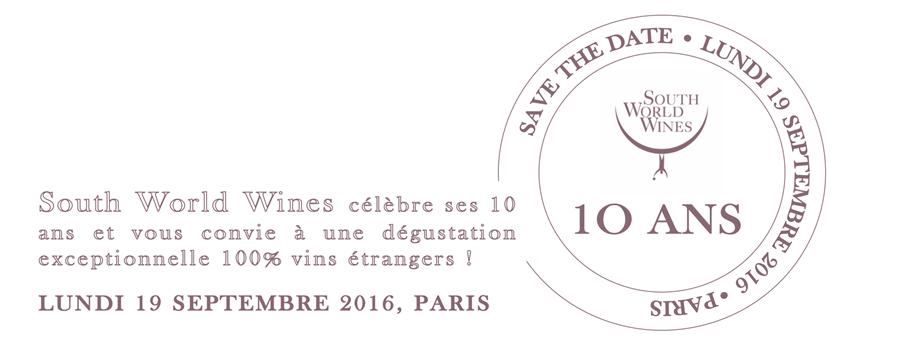 South World Wines fête ses 10 ans !