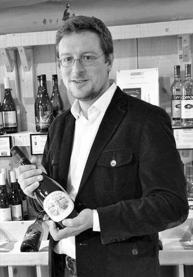Gaëtan Turner, fondateur de South World Wines
