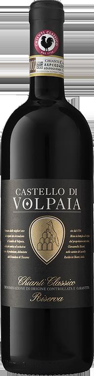 vin rouge castello di volpaia chianti classico Toscane Italie