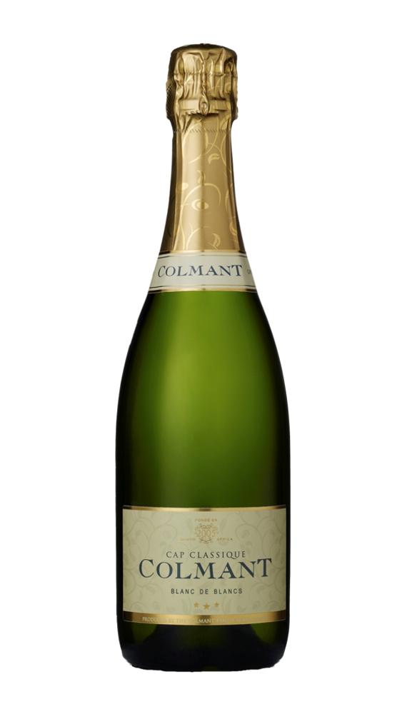 colmant cap classique, champagne vin effervescent d'Afrique du Sud